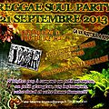 Reggae and soul party