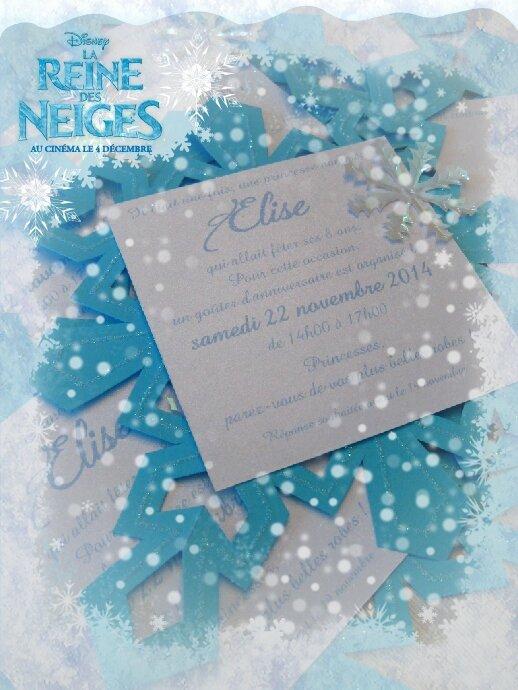 Anniversaire reine des neiges les invitations flocon les anniversaire reine des neiges les invitations flocon stopboris Images
