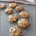 NIGELLA'S COOKIES AUX PEPITES DE CHOCOLAT - NIGELLA'S COOKIES A LAS PEPITAS DE CHOCOLATE 