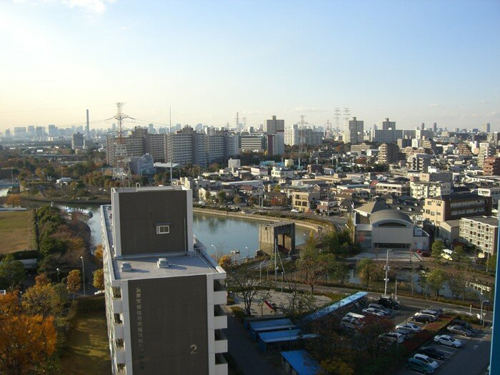 Western View from Minami-kasai 1 Chome