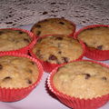 CUPCAKES BANANE CHOCOLAT