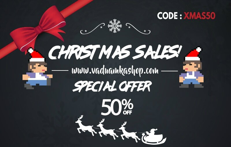 XMAS SALES ON MY STORE ! -50%off all the shop