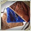 Nouvelles petites pochettes en cuir