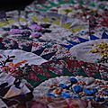 Le patchwork coquilles - l'avancée ...