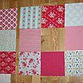 Un patchwork pour aliénor !