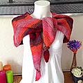 Châles tricot et crochet
