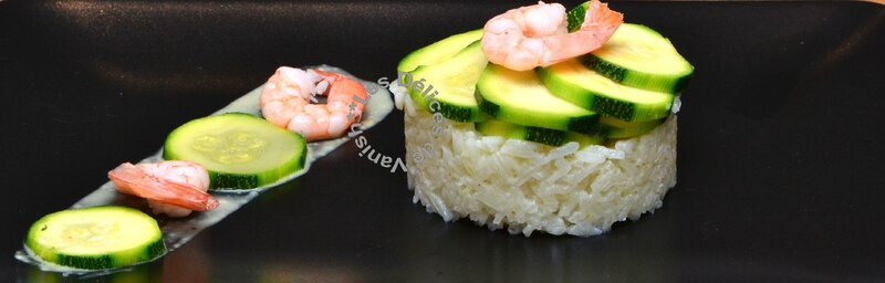 crevettes, riz, courgettes, sauce curry, thermomix