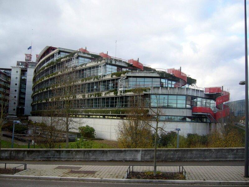Strasbourg 011 Cours européenne des droits de l'homme