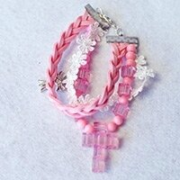 Easy-Tutorial-on-How-to-Make-a-Pink-Braided-Bead-Bracelet-with-Suede-Cord-small