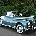 PEUGEOT 203 cabriolet Grand Luxe 1955 Lipsheim (1)