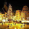Alsace -> je viens visiter ton marché de noël de strasbourg !