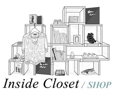 Inside Closet Shop