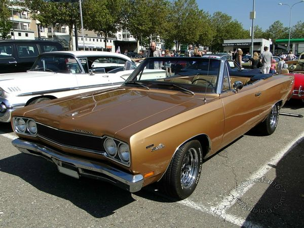 plymouth sport satellite convertible 1969 a