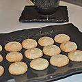 Biscuits à la pâte d''amande fleur d 'oranger et vanille petit voyage express en italie merci edda !!