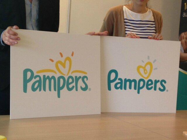 nouveau logo pampers