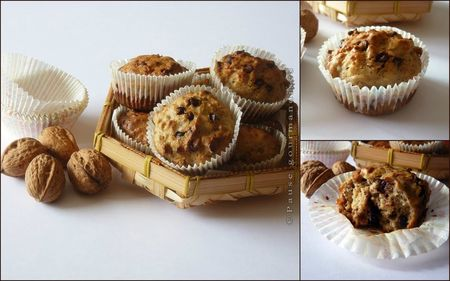 Muffins aux noix et ppites de chocolat (17)