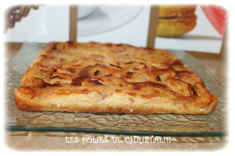 Clafoutis pêches 1