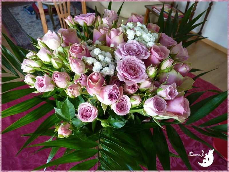 bouquet roses Maman 2