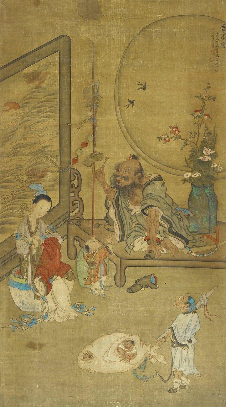 Tang Yin (1470-1524), Demon queller Zhong Kui