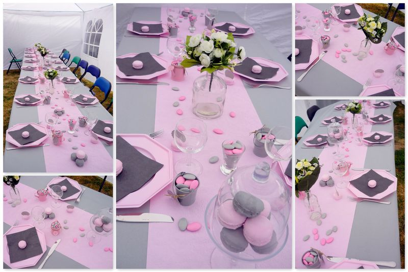1000 images about communion l ane on pinterest - Idee deco table bapteme fille ...