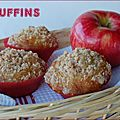 Muffins aux pommes, genre