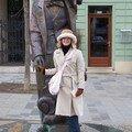 Bratislava, statue de Hans Christian Andersen