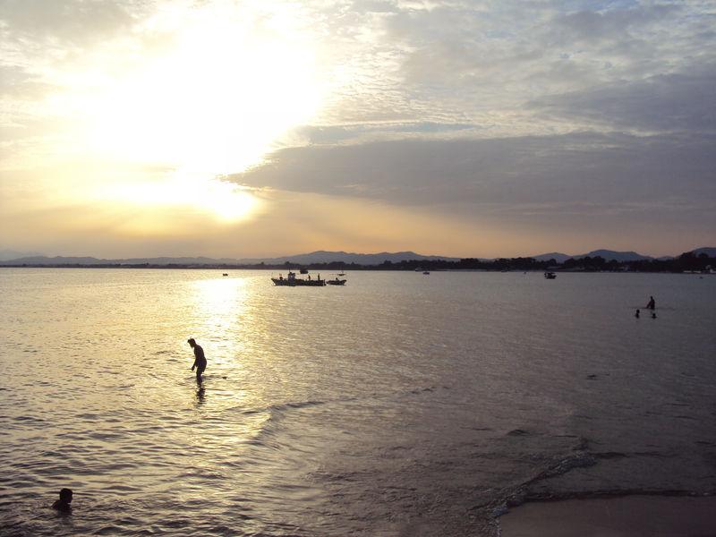 Soleil couchant du mardi 17 août 2010