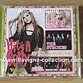 CD promotionnel Hit's A Sony/What The Hell-Japon (mars 2011)