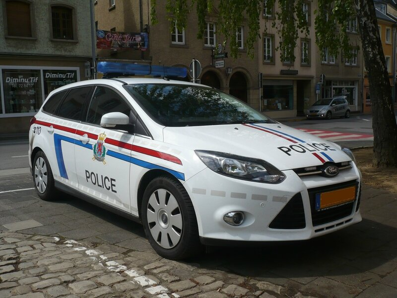 FORD Focus Mk III break Police grand-ducale Echternach (1)