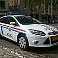 Ford focus mk iii break police grand-ducale