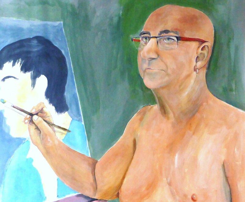 Le peintre s'interroge sur son passé détail