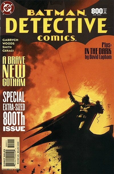 detective comics 0800