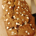 Lazy loaf pour un goter... Pain irlandais, ppites de chocolat & sucre perl