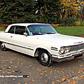Chevrolet impala sport hardtop coupe de 1963 (Retrorencard novembre 2011) 01