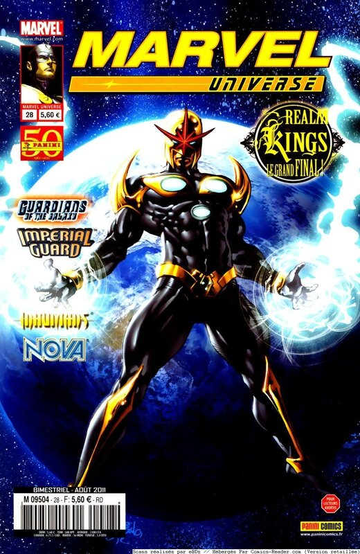marvel universe 28 realm of kings