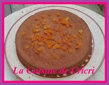 Gâteau à l'orange & abricots secs-02