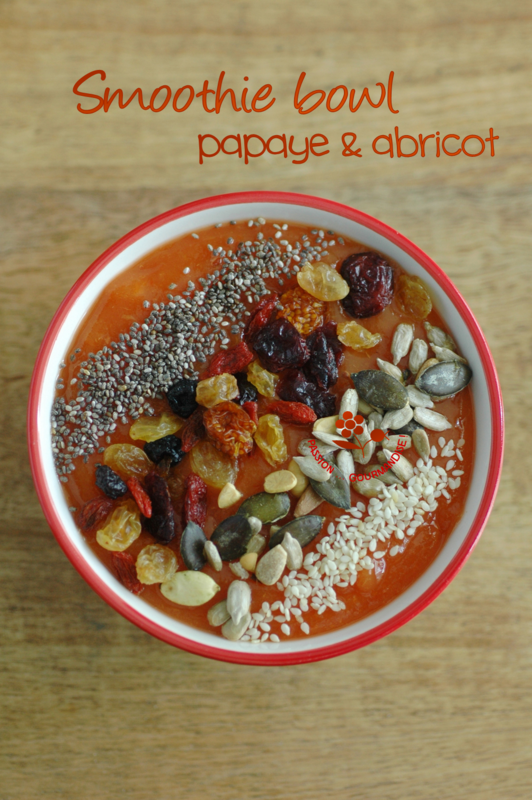 Smoothie bowl papaye & abricot_3