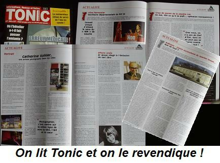 Magazine Tonic mois de mai 2013