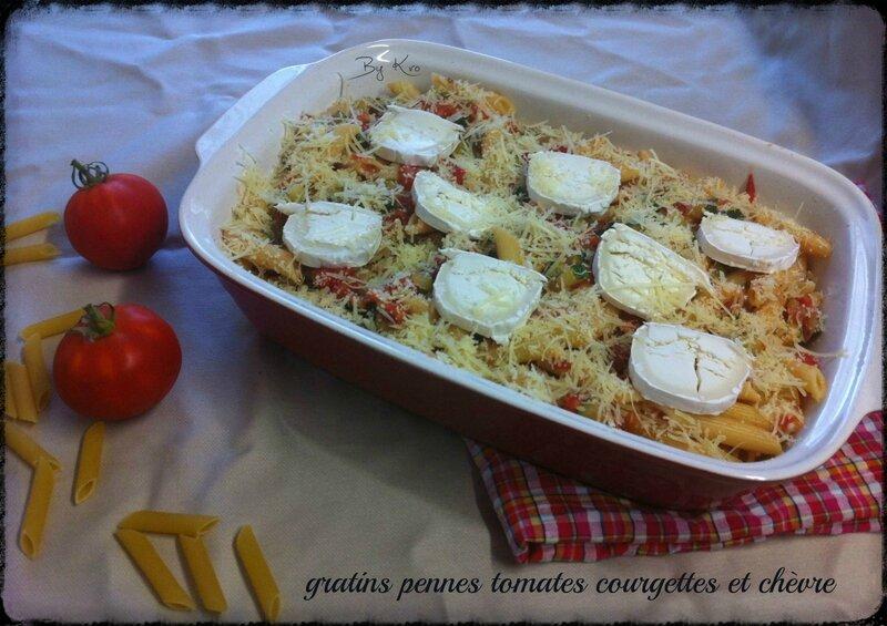 gratins pennes tomates courgettes et ch 232 vre recettes de cuisine pour tous les jours