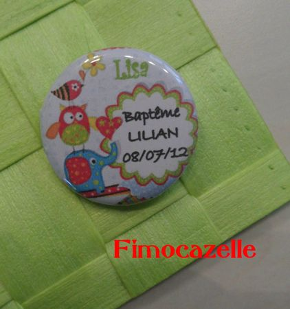 badge bapteme lilian