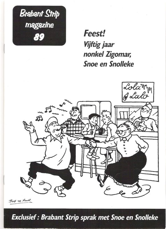 Brabant strip magazine (2001)