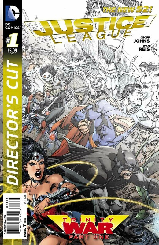 new 52 justice league trinity war director's cut