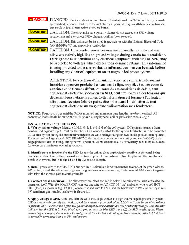 Datasheet Parafoudre Midnite_Page_3