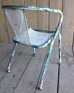 fauteuil Tolix dos
