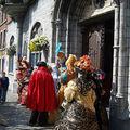 65e braderie /braine l'alleud /parade des costumés vénitiens ( belgique