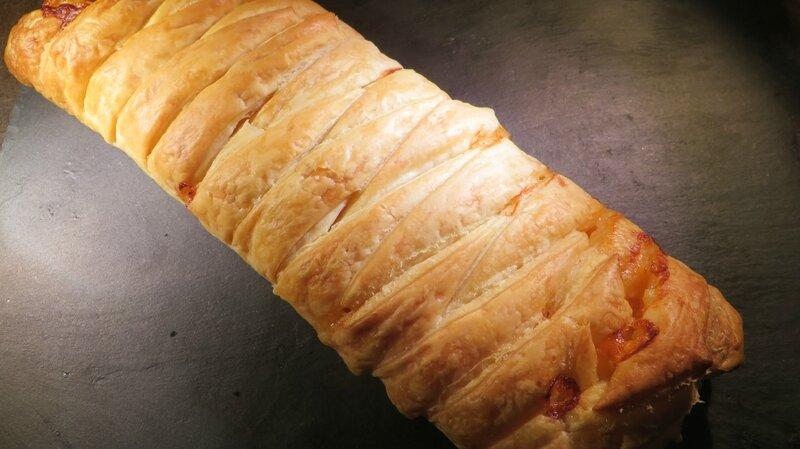 Feuilleté jambon cheddar (4)