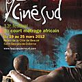 Cinesud 13ème festival du court métrage africain
