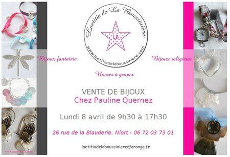 Vente chez Pauline Quernez