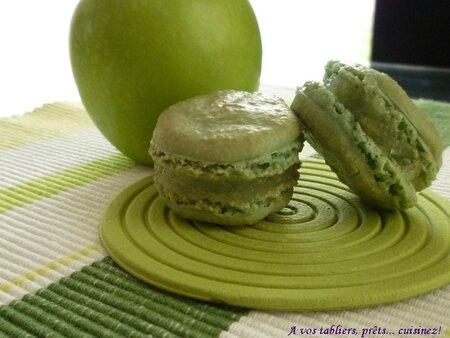 Macaron pomme granny_1