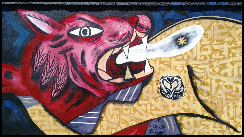 dragon (fresque murale, Rosa Parks)
